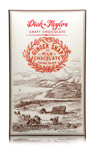 Ginger Snap Milk Chocolate Bar by Dick Taylor Craft Chocolate
