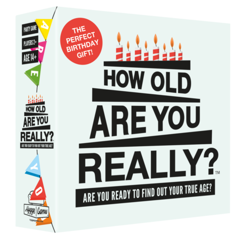 How Old Are You Really Trivia Game