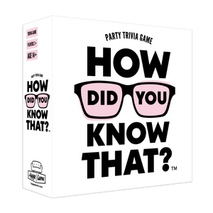 How Did You Know That?! Trivia Game
