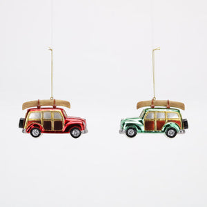 Woody Station Wagon Ornament