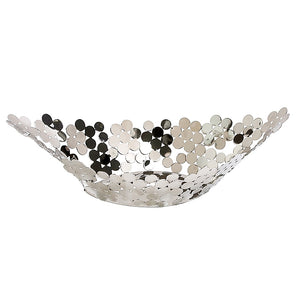 Jade Oval Stainless Steel Bowl