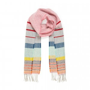 Lambswool Scarf Kyoto Pink by Wallace + Sewell
