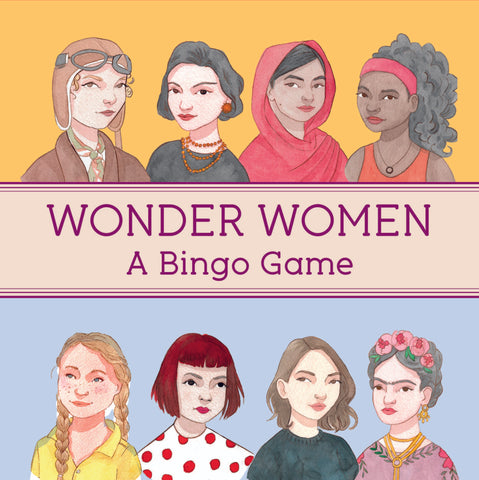 Wonder Woman Bingo Game
