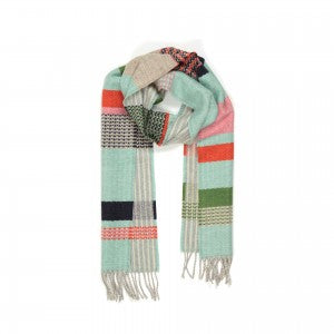 Lambswool Scarf Osaka Mint by Wallace + Sewell