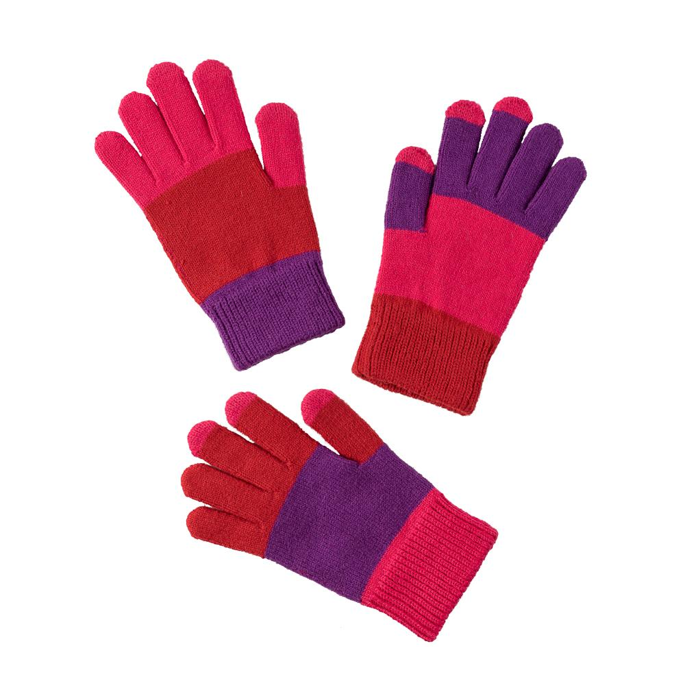 Kids Gloves Pair & Spare-Red