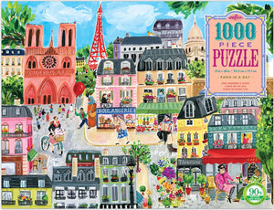 Paris in a Day 1000 Piece Puzzle
