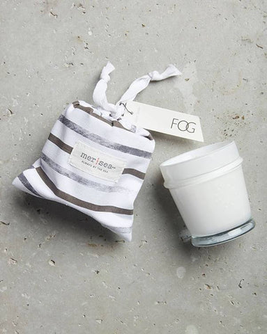 Fog Striped Bag Candle 7oz