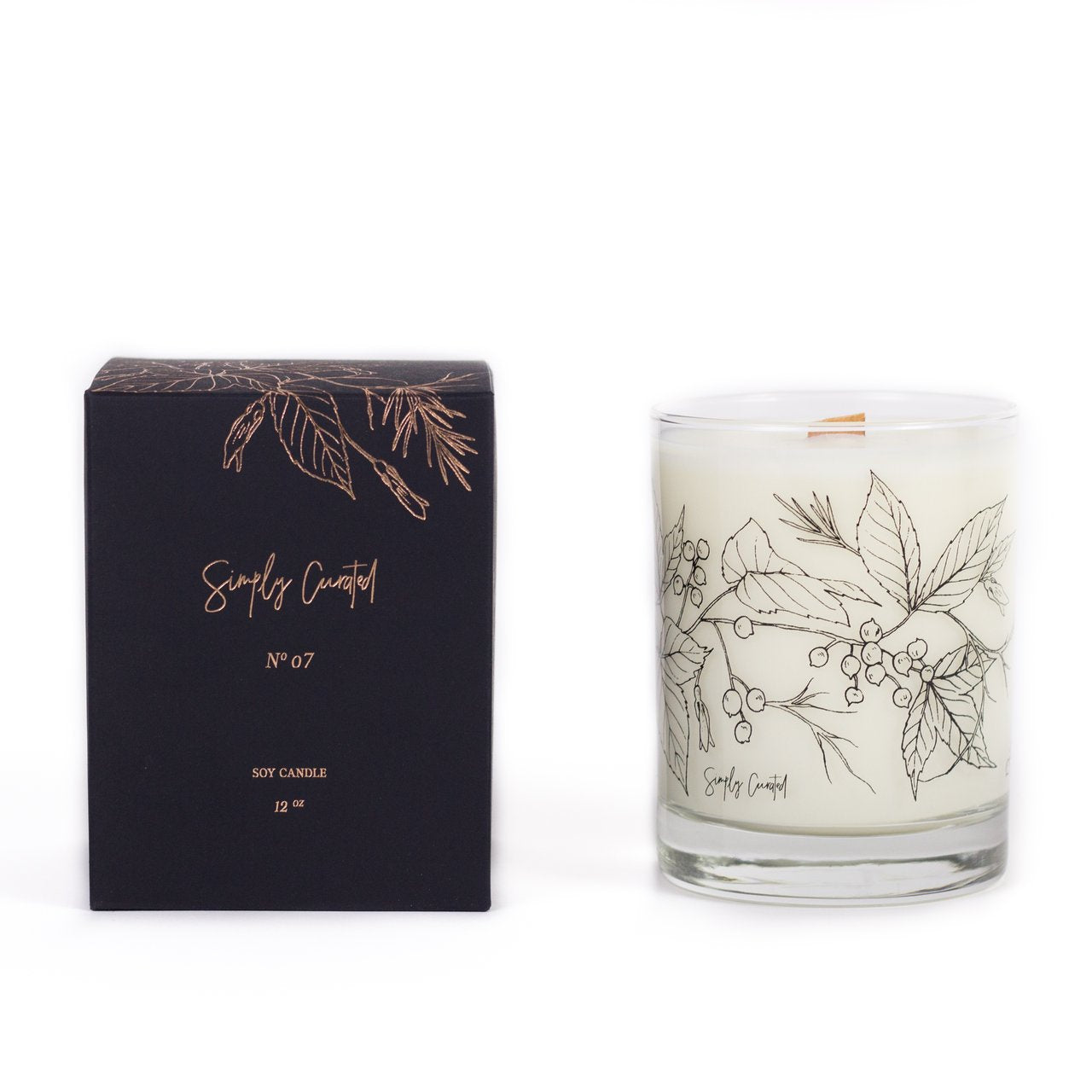 Botanical Collection Candle NO. 07