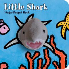 Little Shark Finger Puppet Book