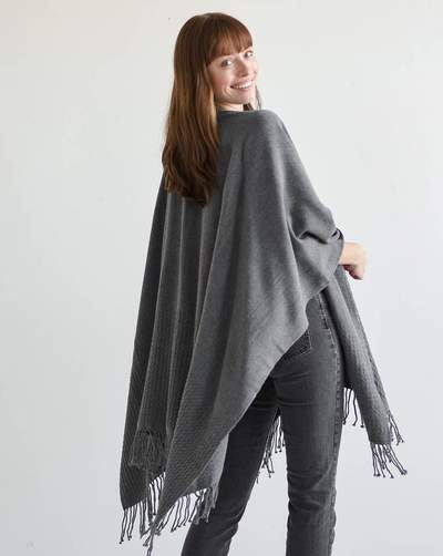 The Classic Wrap Storm Grey