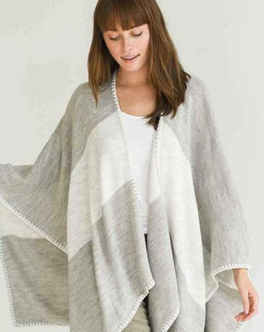 Whipstitch Wrap Sand/ Sea Salt