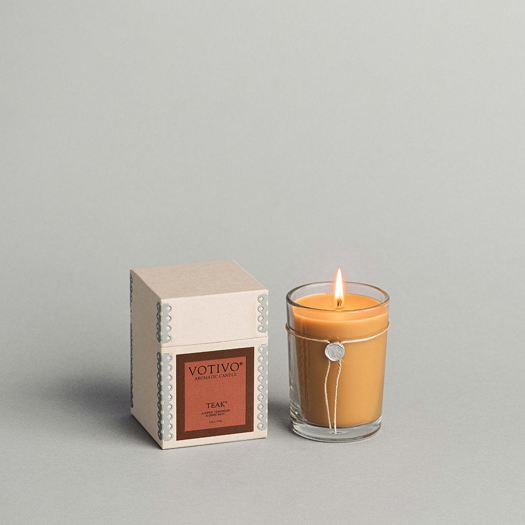 Teak Aromatic Candle