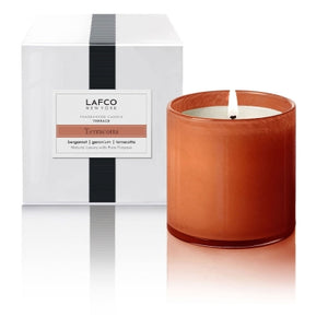 Terracotta Signature Candle by Lafco