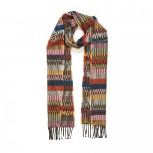 Lambswool Scarf Tokyo Rose by Wallace + Sewell