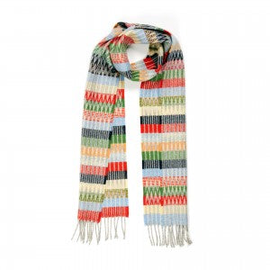 Lambswool Scarf Tokyo Trifle by Wallace + Sewell