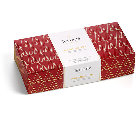 Warming Joy Petite Presentation Box S/10 by Tea Forté