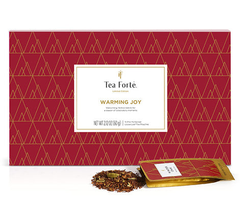 Warming Joy Single Steeps S/15 by Tea Forté