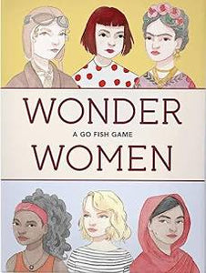 Wonder Women Go Fish Playing Cards