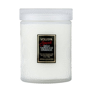 Spiced Goji Tarocco Orange Jar Candle by Voluspa