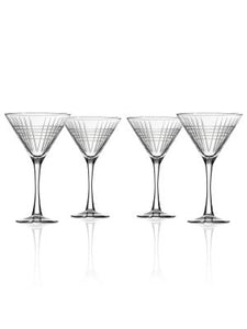 Matchstick Martini Glass