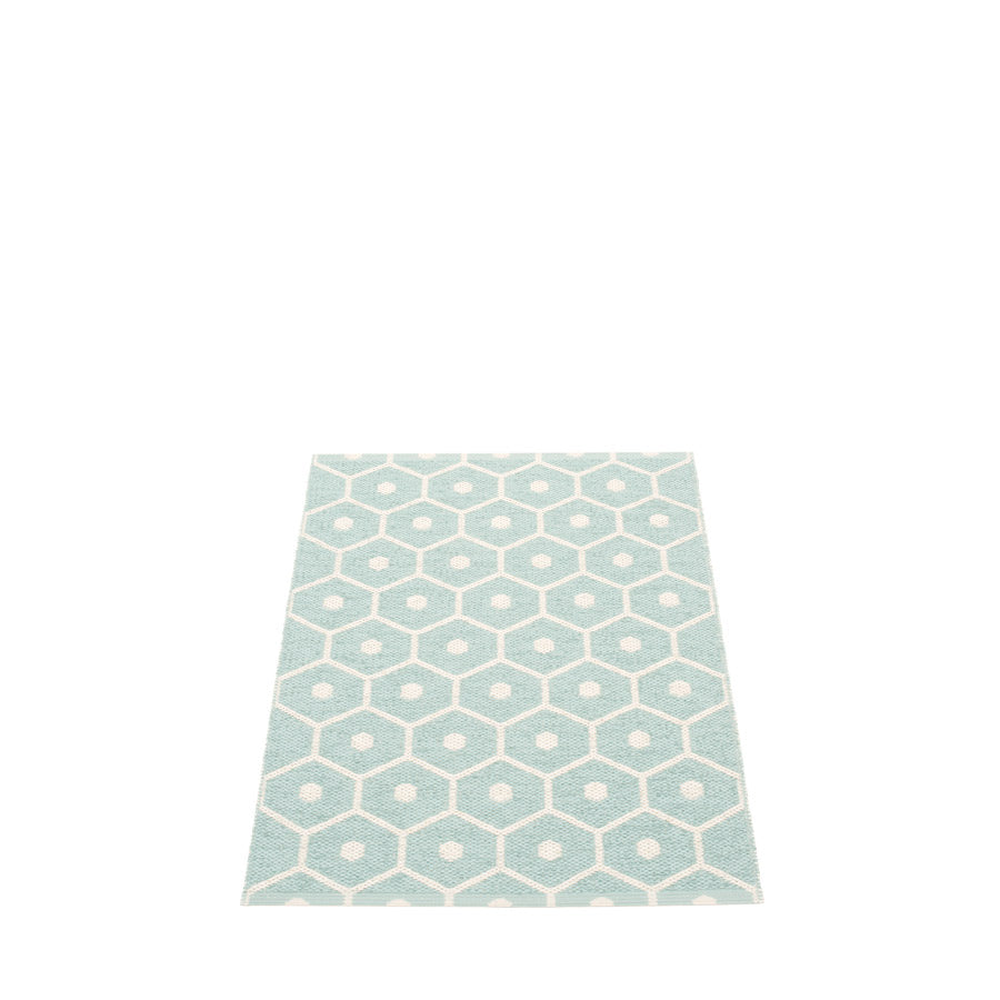 Pappelina Honey Rug Turquoise