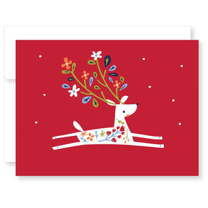 Holiday Cards Boxed Set-Little Reindeer