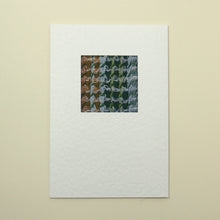 Load image into Gallery viewer, Handmade Greetings Card - Crinkle Green