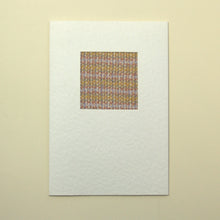Load image into Gallery viewer, Handmade Greetings Card - Pastel Twill