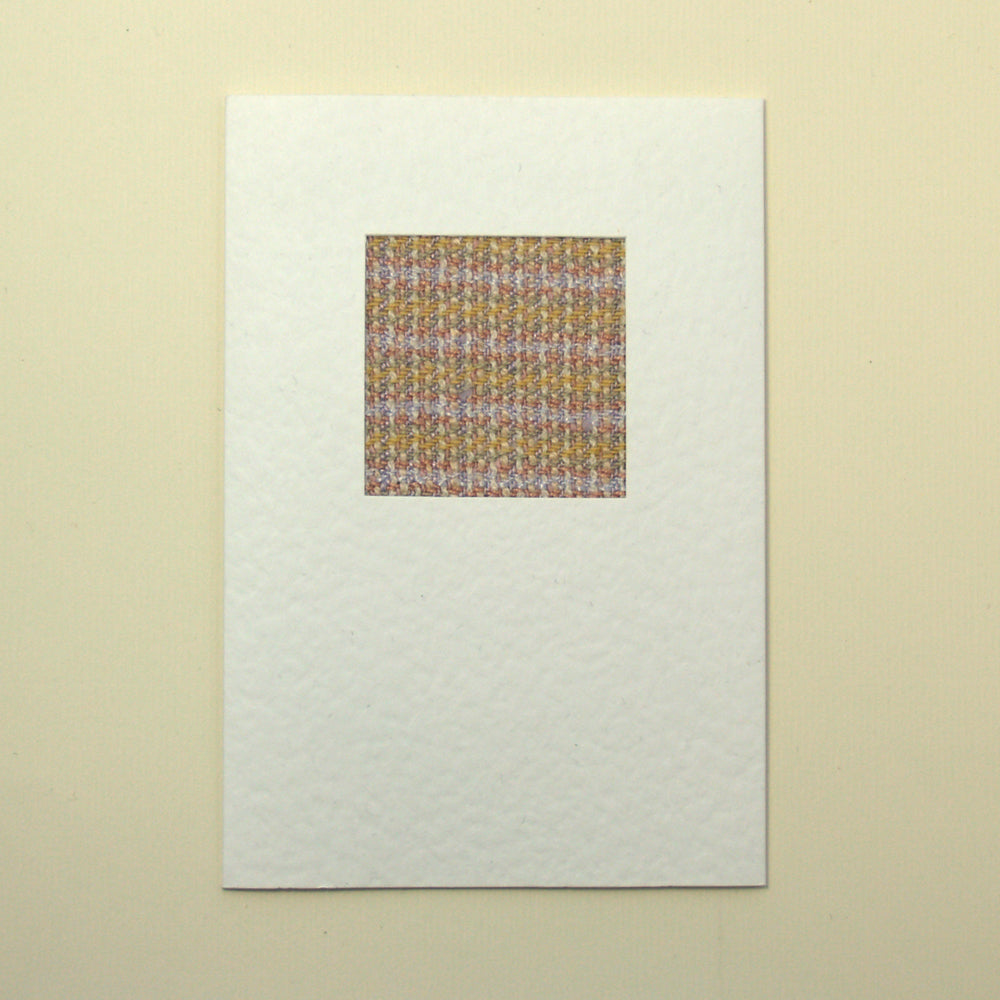 Handmade Greetings Card - Pastel Twill