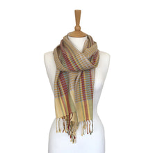 Load image into Gallery viewer, Helix Scarf - Orchard Flowers Topaz