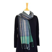 Load image into Gallery viewer, Helix Scarf - Coastal Blue Stripe