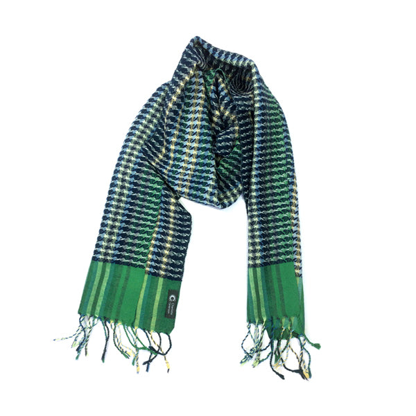 Helix Scarf - Coastal Blue Stripe