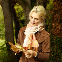 Load image into Gallery viewer, Rib Scarf - Amber