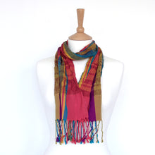Load image into Gallery viewer, Collapse Scarf - Indian Summer