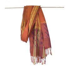 Load image into Gallery viewer, Silk & Merino Scarf - Desert Sands - Siena