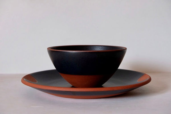 Black Satin Dinnerware - made to order