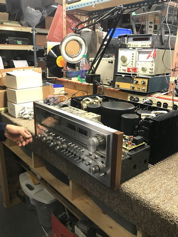 Pioneer SX-1980 on the repair bench
