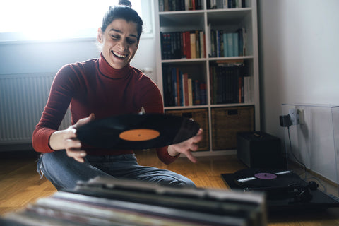 Customer love playing records from Vinyl Pursuit