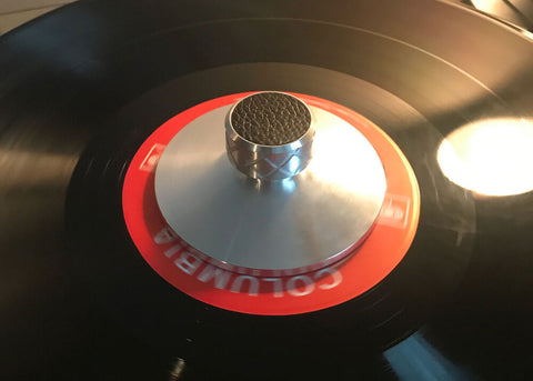 Record turntable platter weight