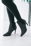 Studded Bootie with Pointed Toe (Sale)
