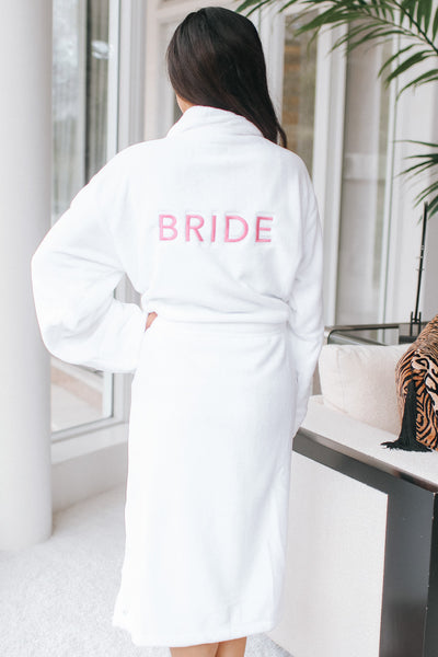 Bride Plush Robe