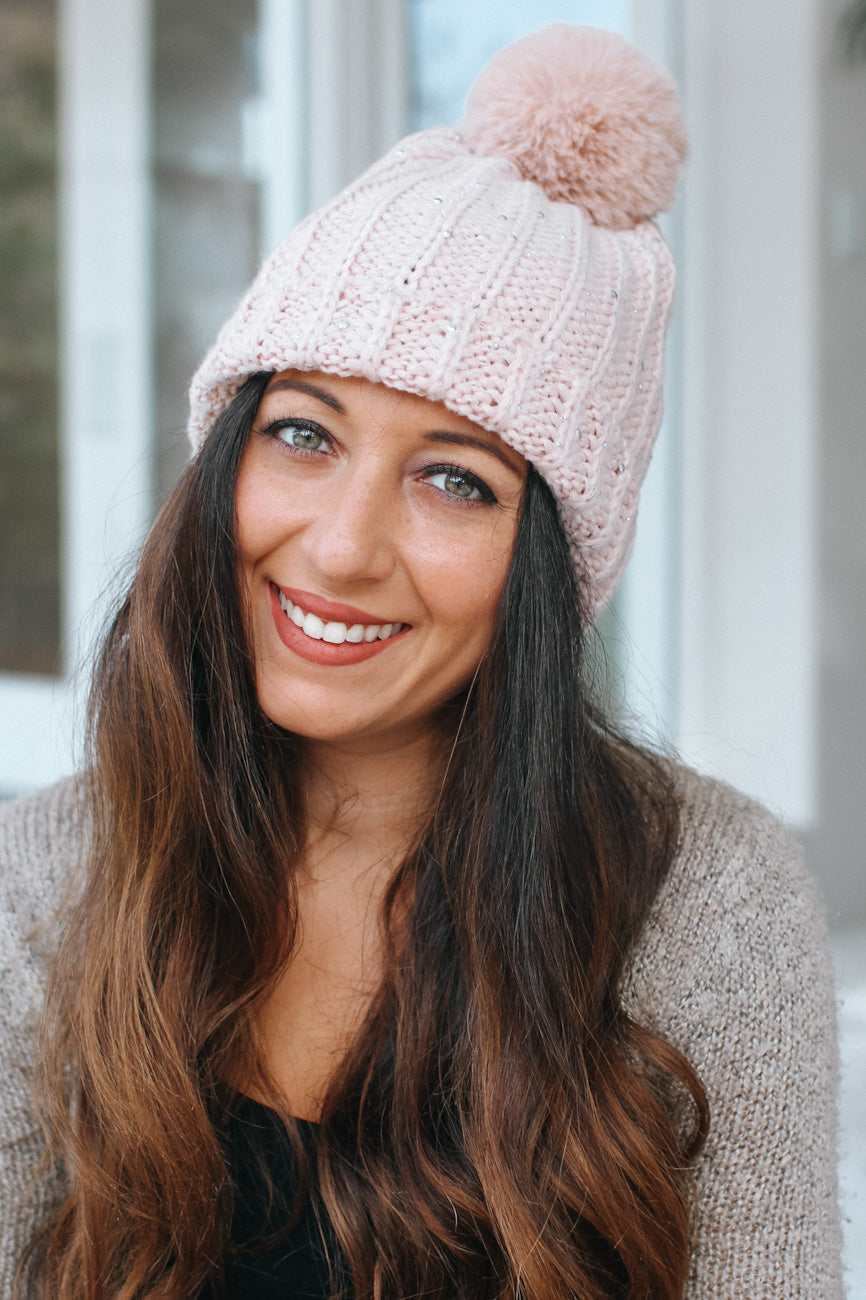 Scatter XS Stud Knit Beanie