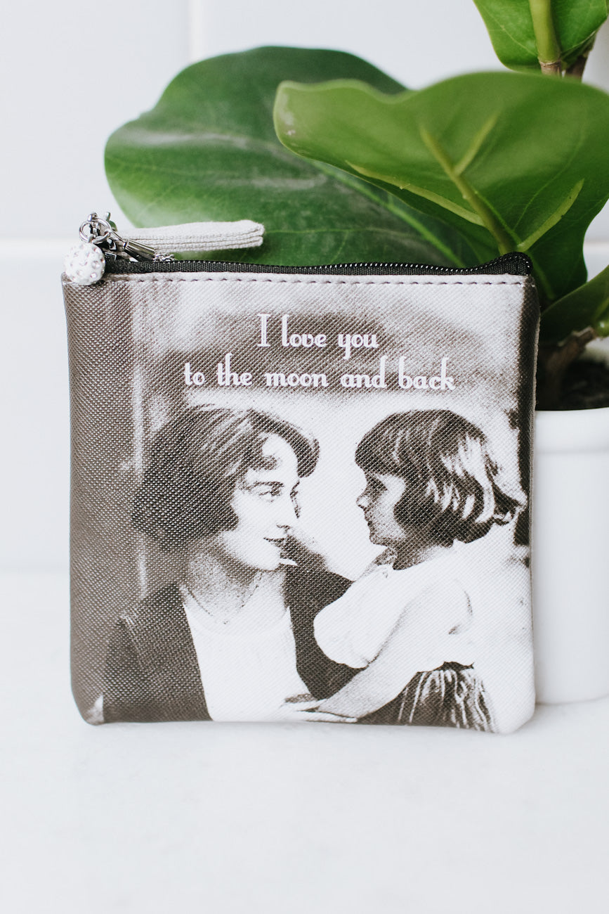 Love You to the Moon & Back Coin Purse