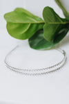 Two Row Stone Metal Headband