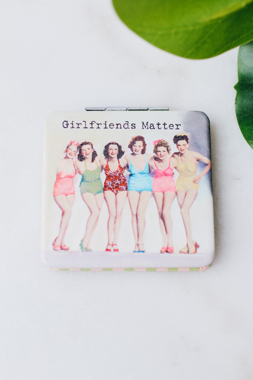 Colorful Girlfriends Matter Compact Mirror