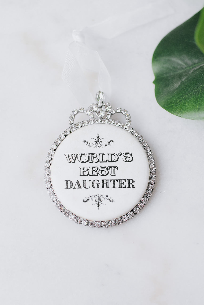 World's Best Daughter Ornament