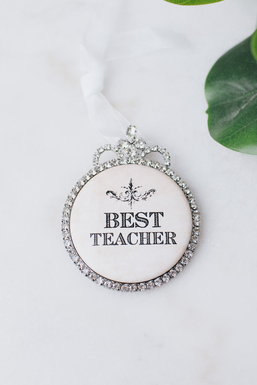 Best Teacher Ornament