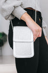 Small Stone Square Flap & Bottom Messenger