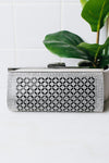 Baguette & Stone Diamond Design Clutch