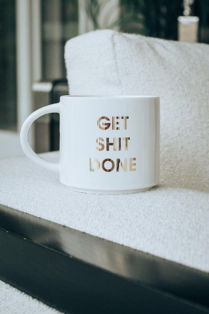 Get Sh*t Done Mug-Glitz & Ears Boutique